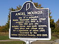 Angel Mound State Historic marker PA260005.JPG