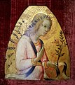 Angel of the Annunciation, by Sano di Pietro, c. 1450, tempera on panel - Hyde Collection - Glens Falls, NY - 20180224 122151.jpg