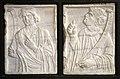 Angelo da verona (attr.), profeti, 1450-1500 ca., dai ss. anna e bovo e vr, 02 aronne e anania.jpg