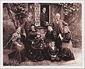 Angharad mam Waldo Williams a'i theulu - Angharad, mother of Welsh poet Waldo Williams and family.jpg