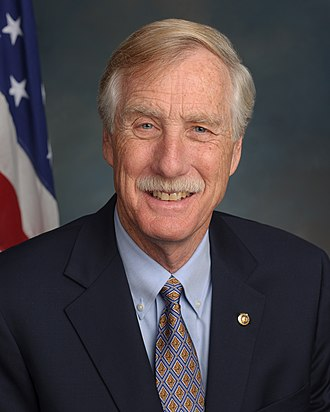 Angus King - Image: Angus King, official portrait, 113th Congress