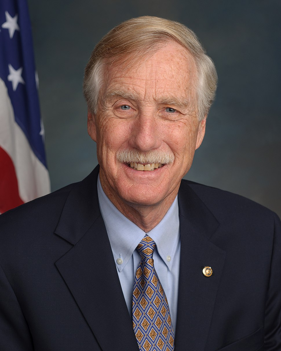 Angus King, official portrait, 113th Congress