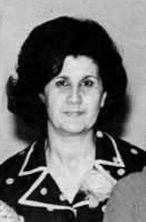 Anisa Makhlouf - Makhlouf in 1970