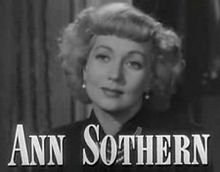 Ann Sothern in A Letter to Three Wives trailer.jpg