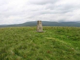 Annanhead Hill - Annanhead Hill trig point (S5678)