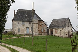 15th-century manor in Anquetierville