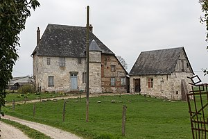 Anquetierville - 15th-century manor in Anquetierville