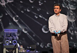 Anthony Atala, Printing a Human Kidney on Stage (5507356887).jpg
