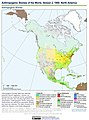 Anthropogenic Biomes of the World, Version 2, 1900 North America (13604071504).jpg