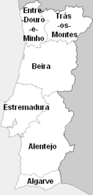 Beira (Portugal) - Portugal's traditional provinces
