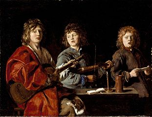 Three Young Musicians