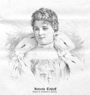 Toni Tetzlaff - Tetzlaff in 1897