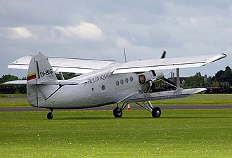 Agricultural aircraft - The Antonov An-2 was a mass-produced aircraft often used for agricultural work.
