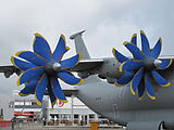 Antonov AN-70 at Paris Air Show 2013 5.jpg