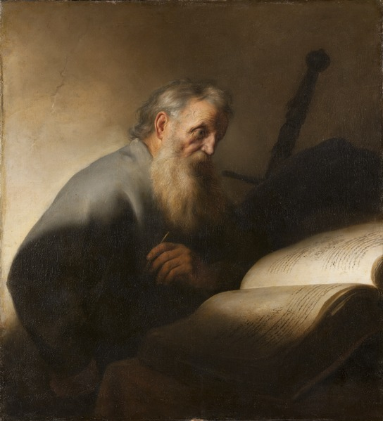 File:Apostle Paul (Jan Lievens) - Nationalmuseum - 132629.tif