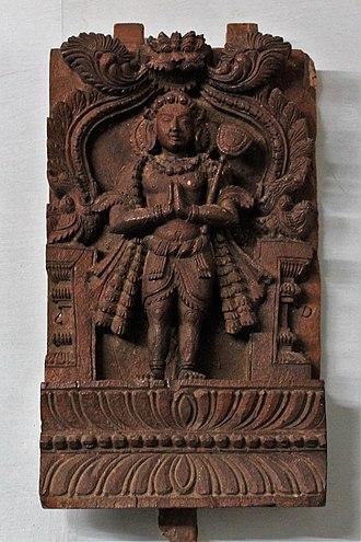Appar - Appar (Wooden Image), ASI Museum, Vellore