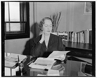 Federal Emergency Relief Administration - Ellen S. Woodward directed FERA's women's programs and later became an administrator for the Works Progress Administration and Social Security Administration