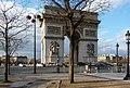 Arc de Triomphe de l'Étoile, 25 December 2009.jpg
