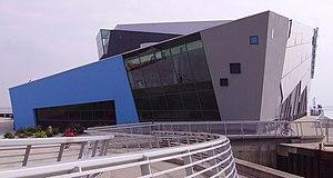 The Deep (aquarium) - Image: Architecture of The Deep 04