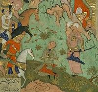 Ardashir executes Mihrak.jpg
