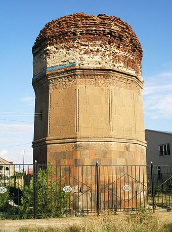 The Mausoleum of Kara Koyunlu emirs in Argavand near Yerevan