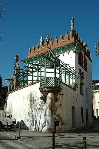 Josep Puig i Cadafalch - Image: Argentona Casa Puig i Cadafalch