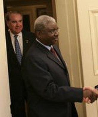 Politics of Mozambique - Mozambique's president, Armando Guebuza