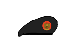Artillery brigadier Beret - Egyptian Army.png