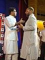 Asaduddin Owaisi (right) with Sachin Pilot.jpg