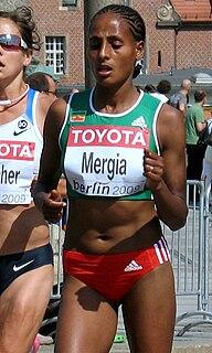 Aselefech Mergia Ethiopian marathon runner