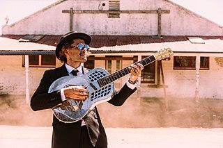 Ash Grunwald Australian blues musician (born 1976)