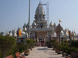 A temple in Hastinapur