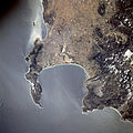 Astronaut photo of Cape Town STS081-738-23.jpg