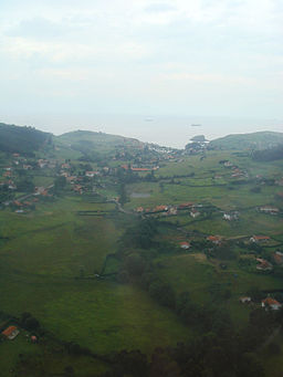 Asturias from the air