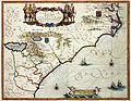 Atlas Van der Hagen-KW1049B13 076-VIRGINIAE partis australis, et FLORIDAE partes orientalis, interjacentiumq- regionum NOVA DESCRIPTIO.jpeg