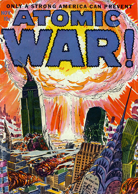 cover of Atomic War number one, November, 1952. AtomicWar0101.jpg