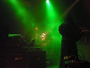Gravetemple - Image: Attila Csihar Gravetemple Trio