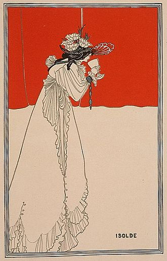 Aubrey Beardsley - Isolde, illustration in Pan magazine, 1899
