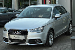 Audi A1 1.6 TDI Ambition front 20100904.jpg