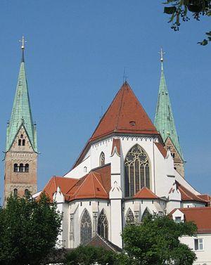 Johann Speth - Image: Augsburg Dom Ostchor