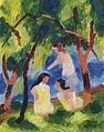 August Macke - Badende Mädchen (1913).jpg
