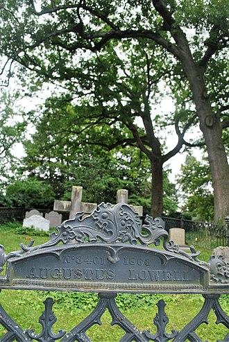 Augustus Lowell - Mount Auburn Cemetery, Augustus Lowell