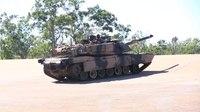 File:Australian M1 Abrams tank conducting target practice in May 2017.webm