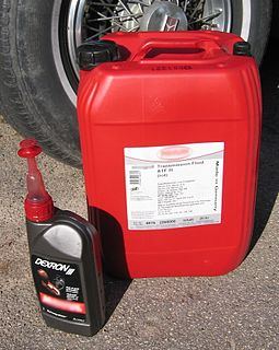 Automatic transmission fluid Fluid used in vehicles for self-shifting or automatic transmissions.
