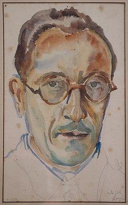 Autoportrait de Raymond Ruyer