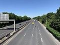 Autoroute A104 vue depuis Pont Avenue Paul Vaillant Couturier Villepinte Seine St Denis 1.jpg