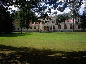 Simuna, Estonia - Avanduse Manor in Simuna.