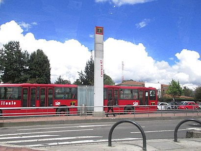 Cómo llegar a Carrera 14 en transporte público - Sobre el lugar