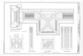 Avery Coonley House, 300 Scottswood Road, 281 Bloomingbank Road, Riverside, Cook County, IL HABS ILL,16-RIVSI,2- (sheet 5 of 17).png