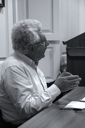 Avi Shlaim - Shlaim addressing the Oxford Theology Society